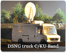 News Edits - Electronic News Gathering - DSNG - Teleport Services ...